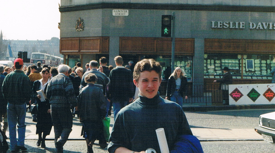 Edinburgh Early 1990s