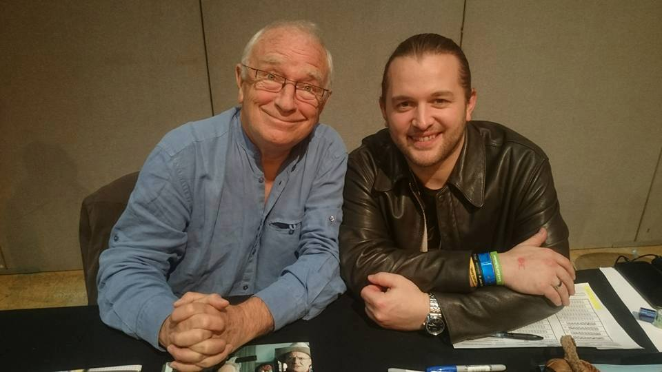 Paul Freeman and Patrick Finding Ford Interview Cardiff Film and Comic Con