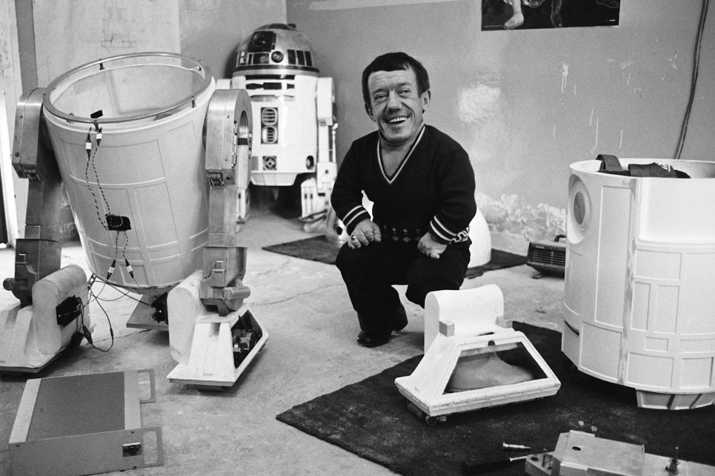 Star Wars Kenny Baker R2D2 Finding Ford
